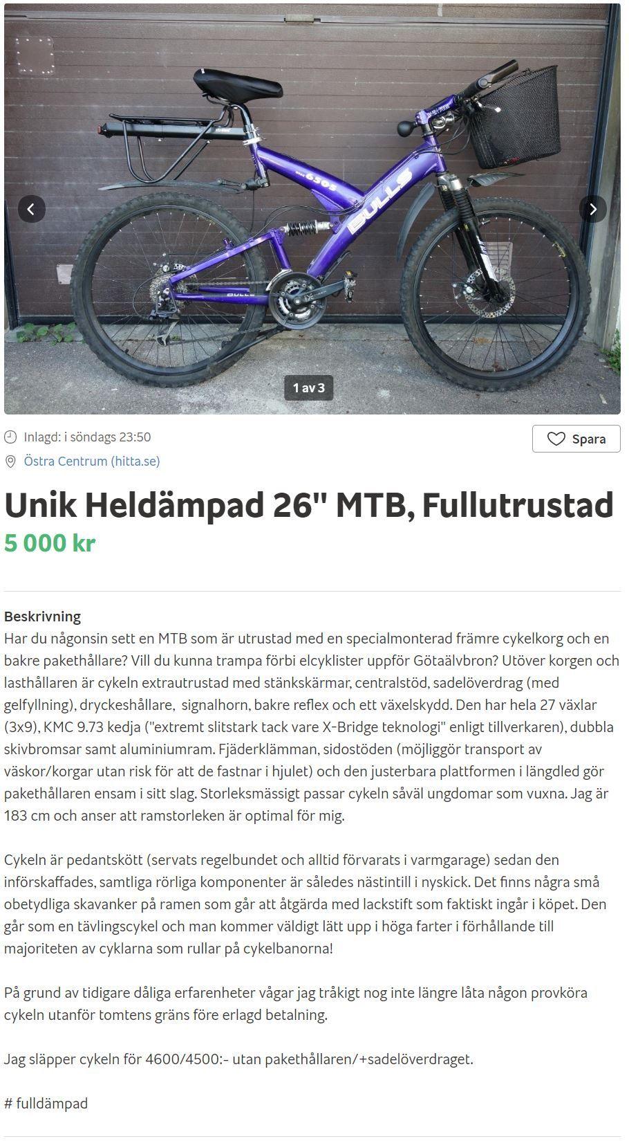 2020-04-09 14_00_55-Unik Heldämpad 26_ MTB, Fullutrustad säljes i Göteborgs stad - Blocket.jpg