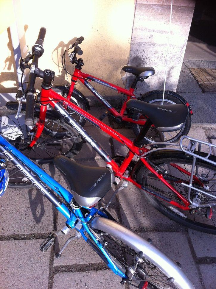 cykel fotbroms problem