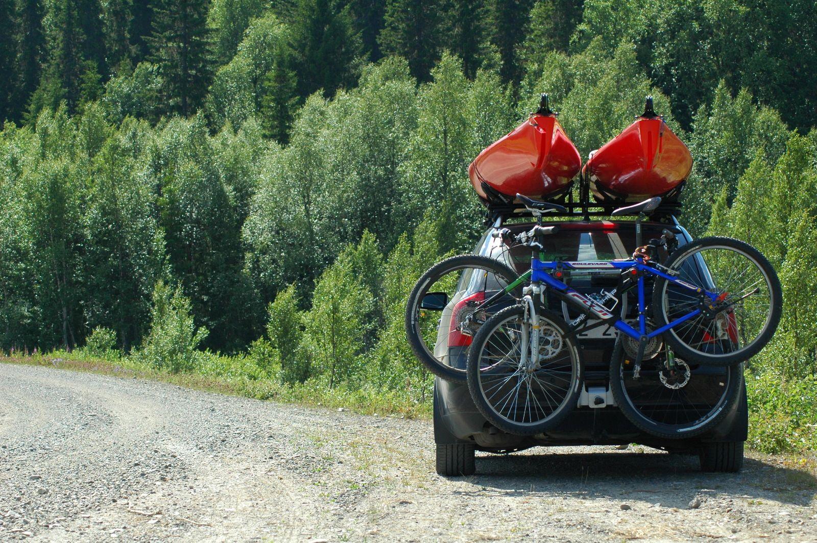 cykel på dragkrok lagligt