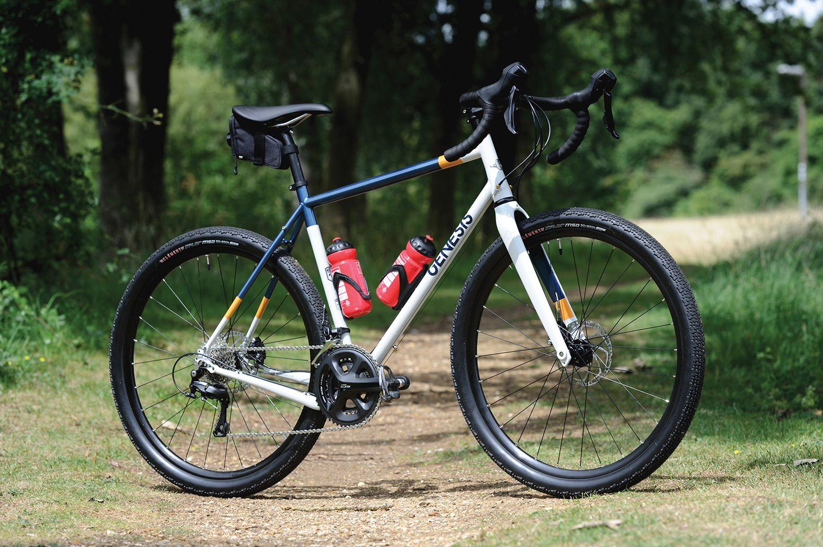 cyclocross däck på racer