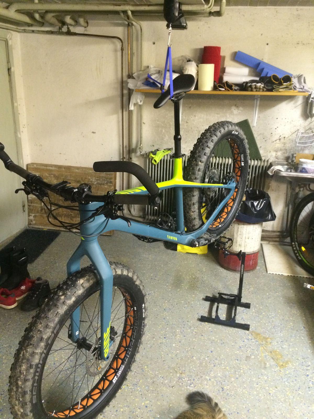 hur mycket väger en cykel