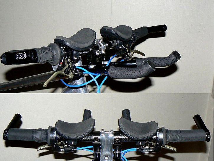 Cykla med stelopererad fot Happyride