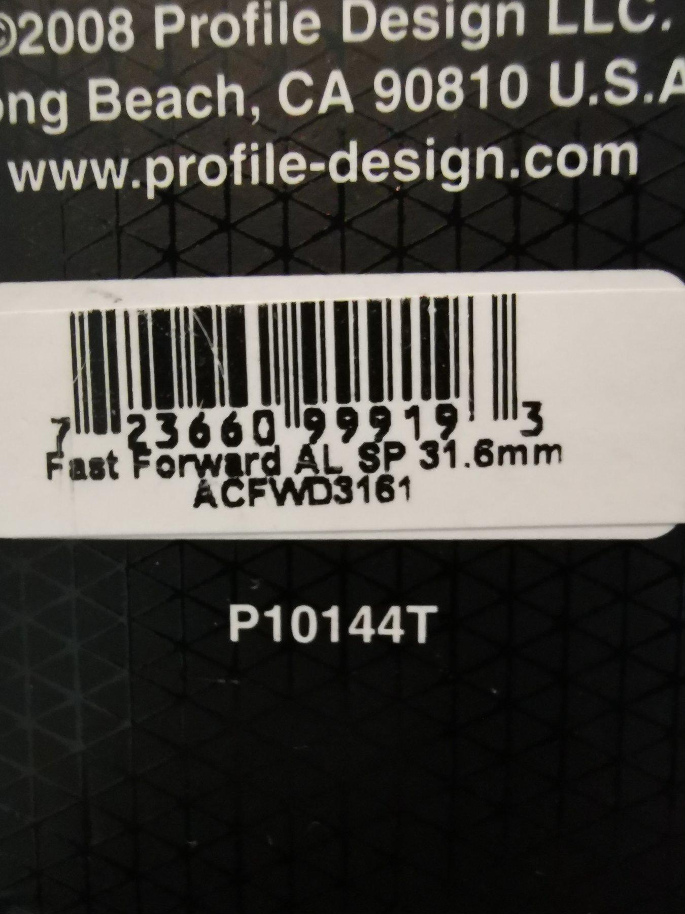fast forward sadelstolpe