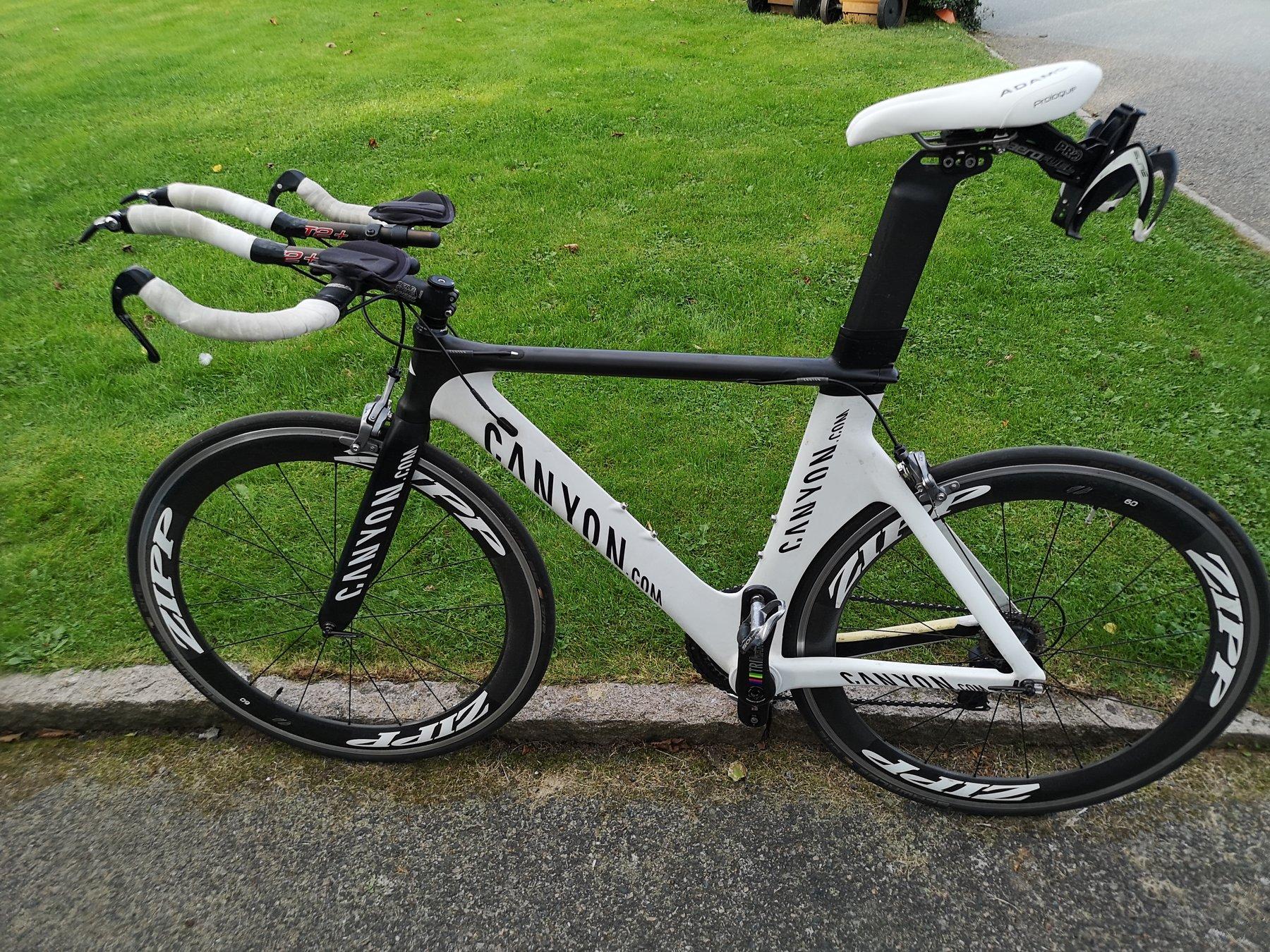 triathlon cykel säljes