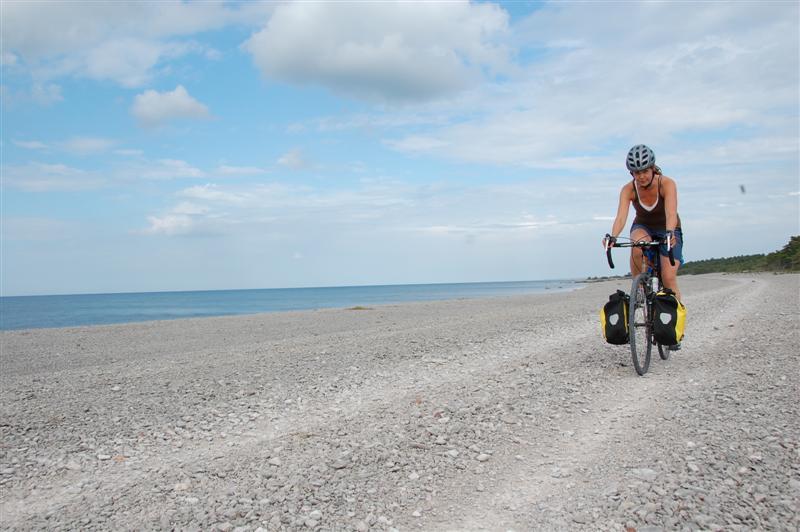 cykelled gotland karta Gotland runt på 50 mil – Happyride.se cykelled gotland karta