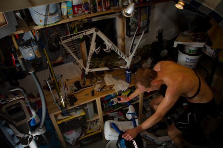 Det är svett och hårt jobb som gäller om det ska synas förbättringar. Foto: Bengt Ellison