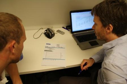 Grafer analyseras och träningsprogram tas fram
