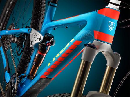 Fuel EX blue orange. Foto: Trek