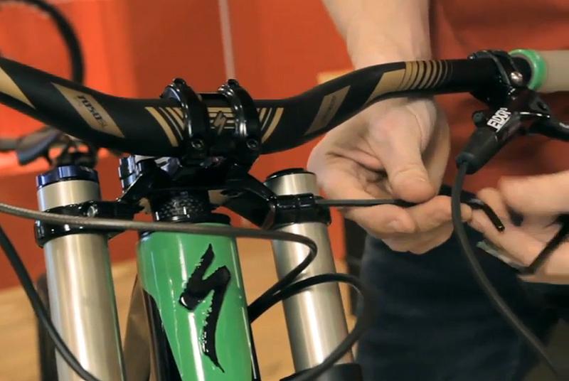 styrlager cykel glapp