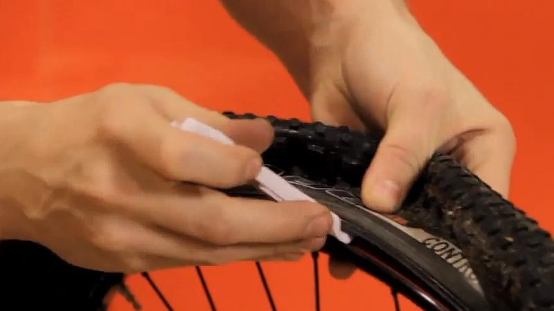 laga punktering cykel