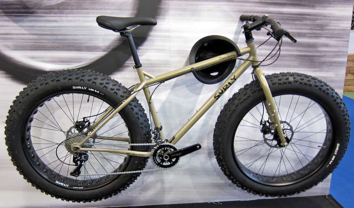 cykel stora däck