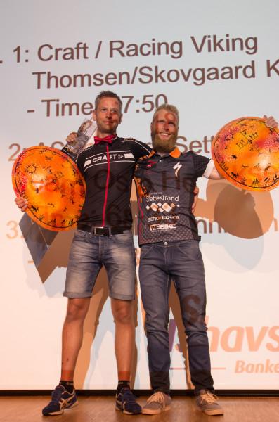 Danska vinnarduon i OF 700, Per och Erik. Foto: Bengt Luthman.
