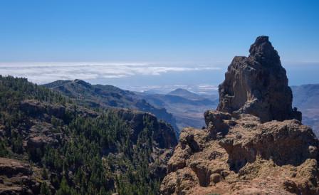 Utsikt från toppen av Gran Canaria