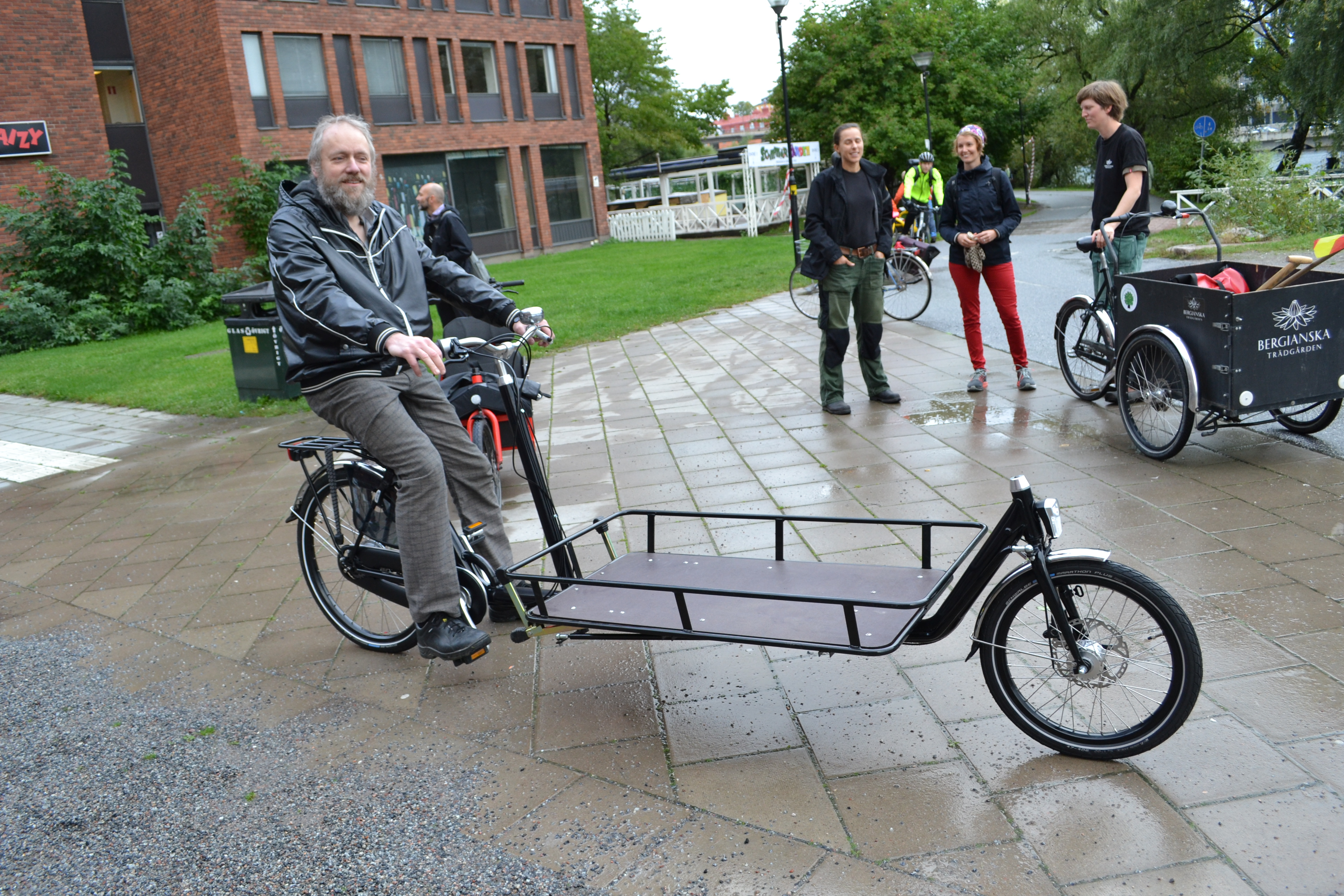 cykel med flak