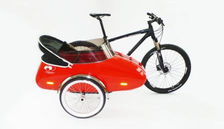rød-sidevogn