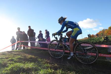 Jenny Rissveds vann i de svenska färgerna på söndagen