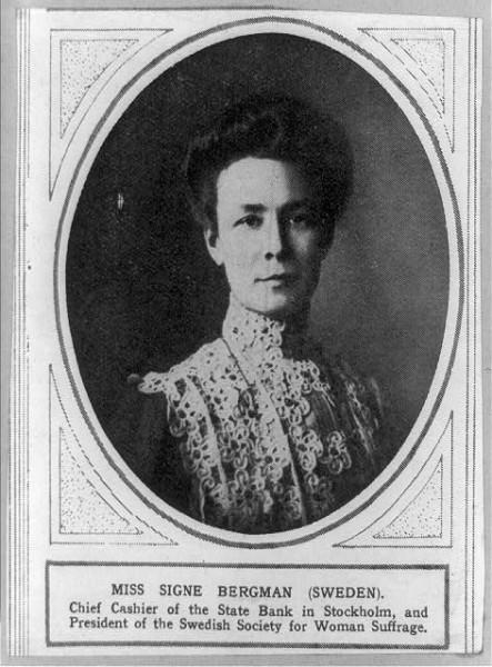 C1910_Signe_Bergman_Swedish_suffragist