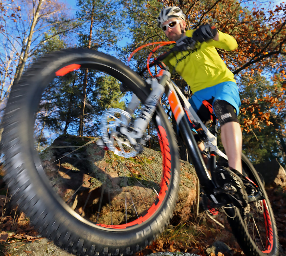 Plusdäck gör cyklingen till en barnlek