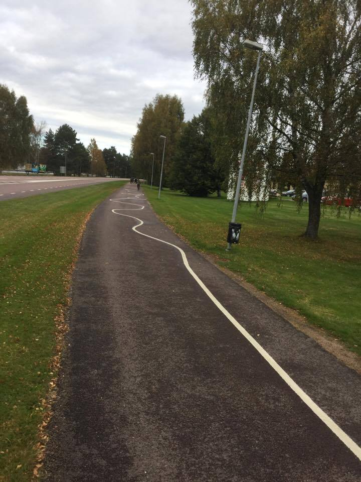 Cykelkonst i Karlstad