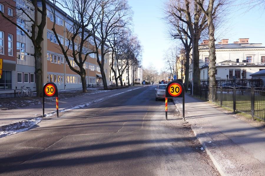 Cykelfartsgata i Linköping