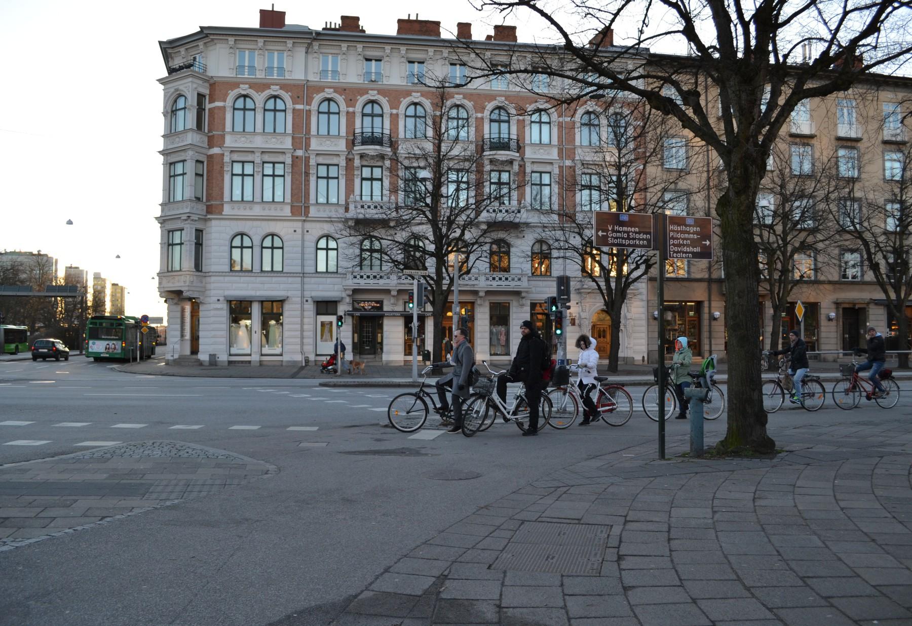 Pendlingsstråk Malmö