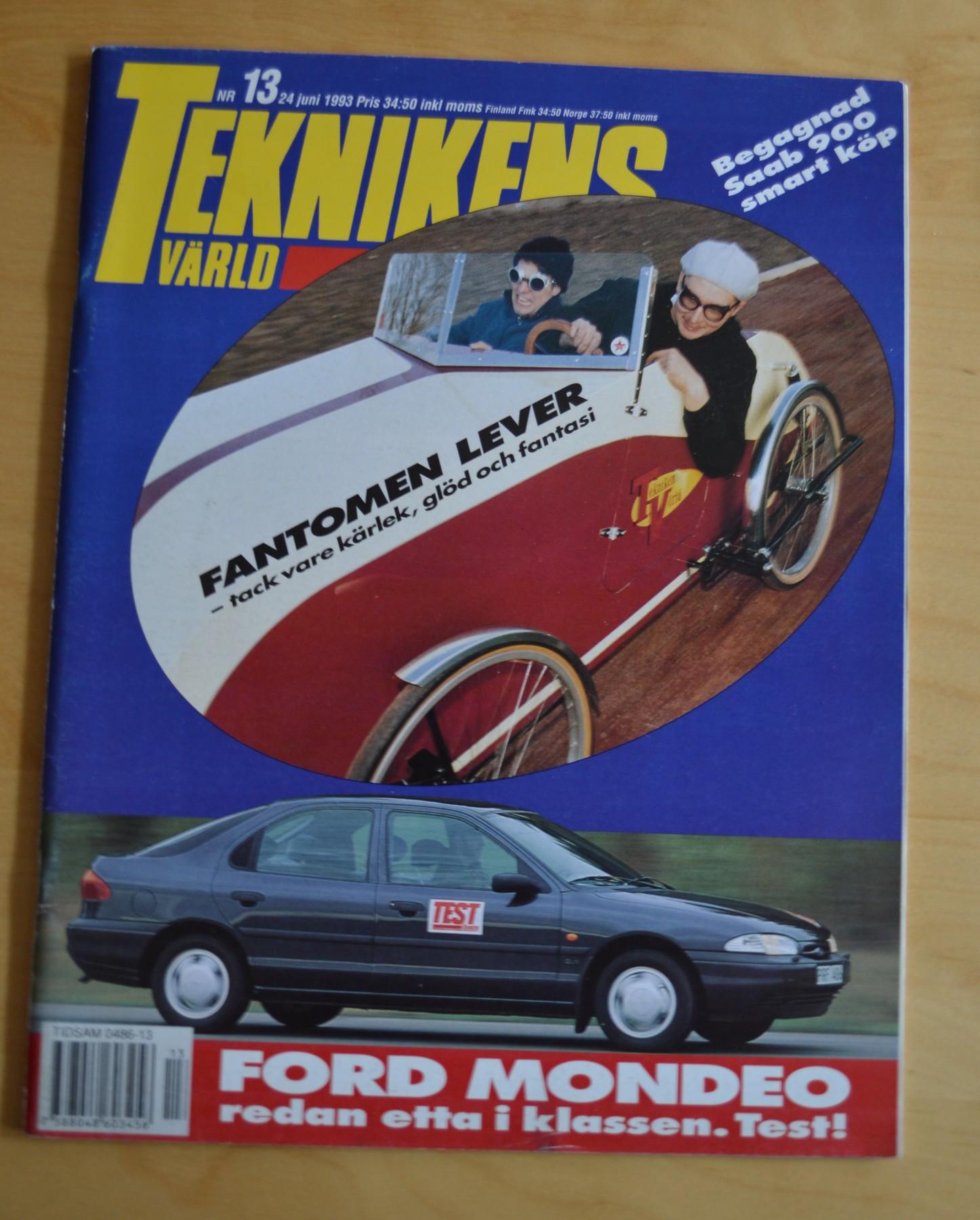 Teknikens värld nr 13, 24 juni 1993