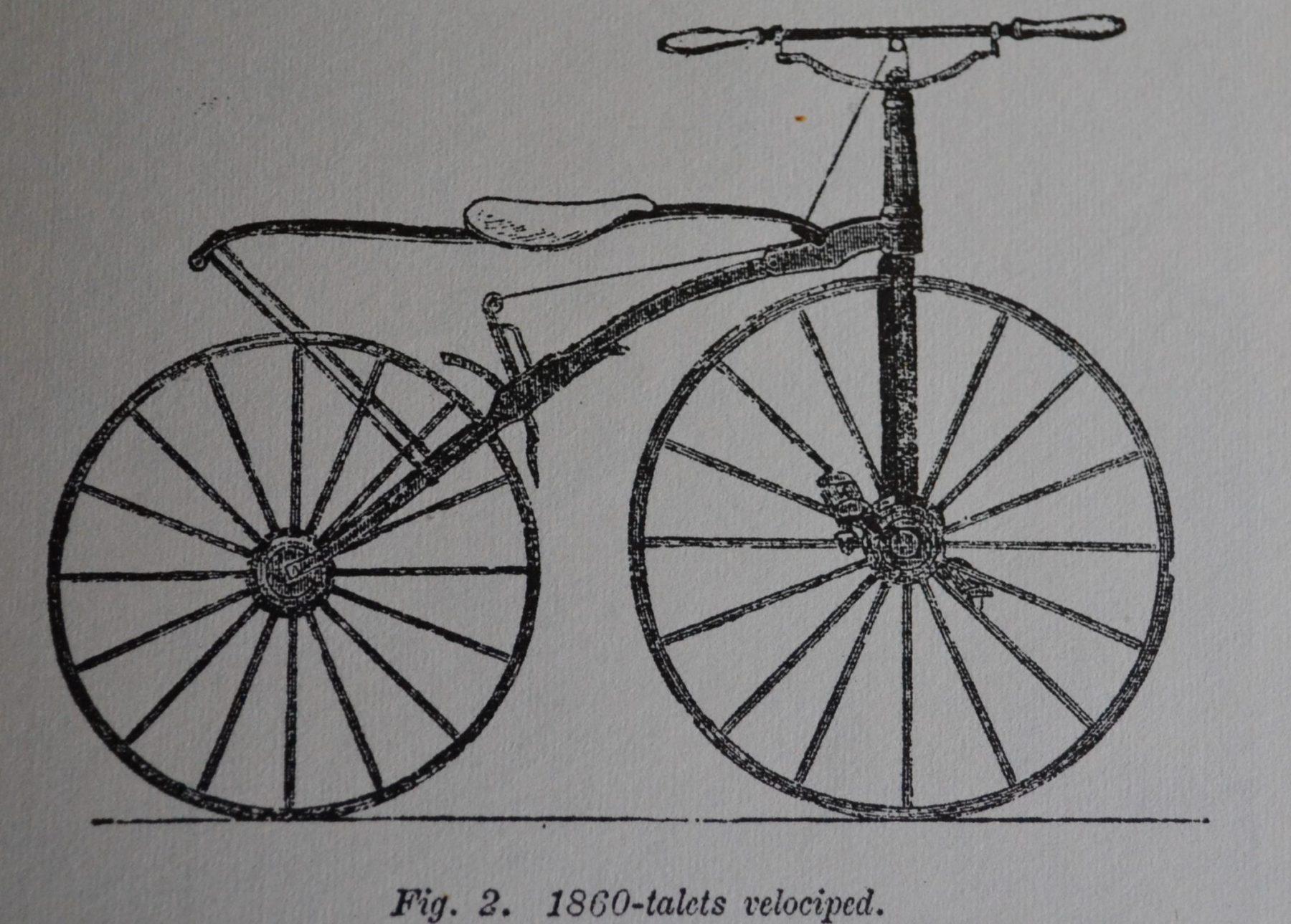 Topmoderne När velocipeden kom till Sverige – Cykeln i Sverige del 1 LK-66
