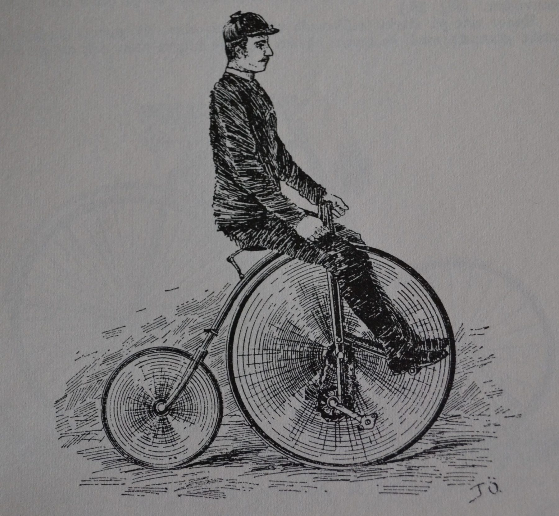Fabriksnye När velocipeden kom till Sverige – Cykeln i Sverige del 1 YB-85