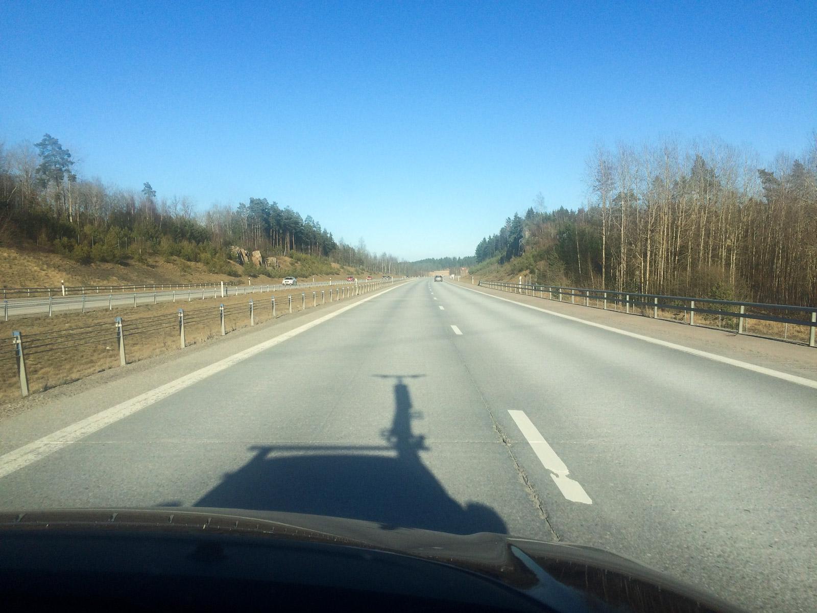 Testbanan - 3000 km landsväg.