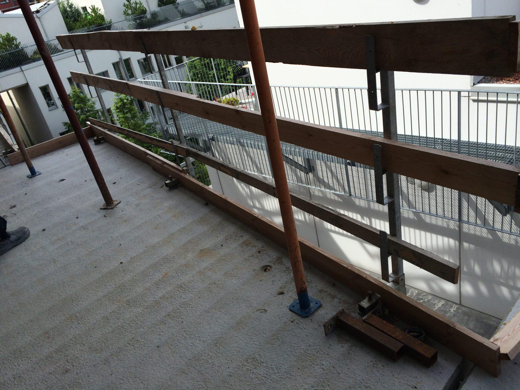 Cykelparkering på loftgången