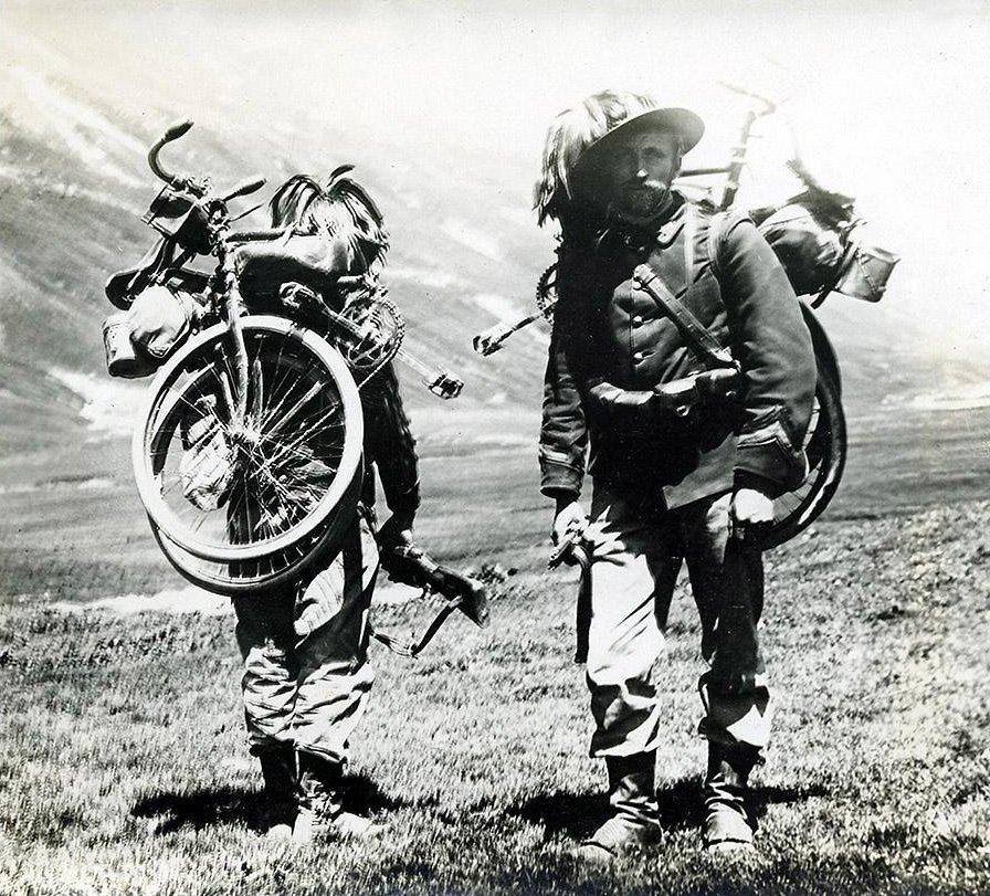 Italienska Bersaglieri, strax före första världskriget