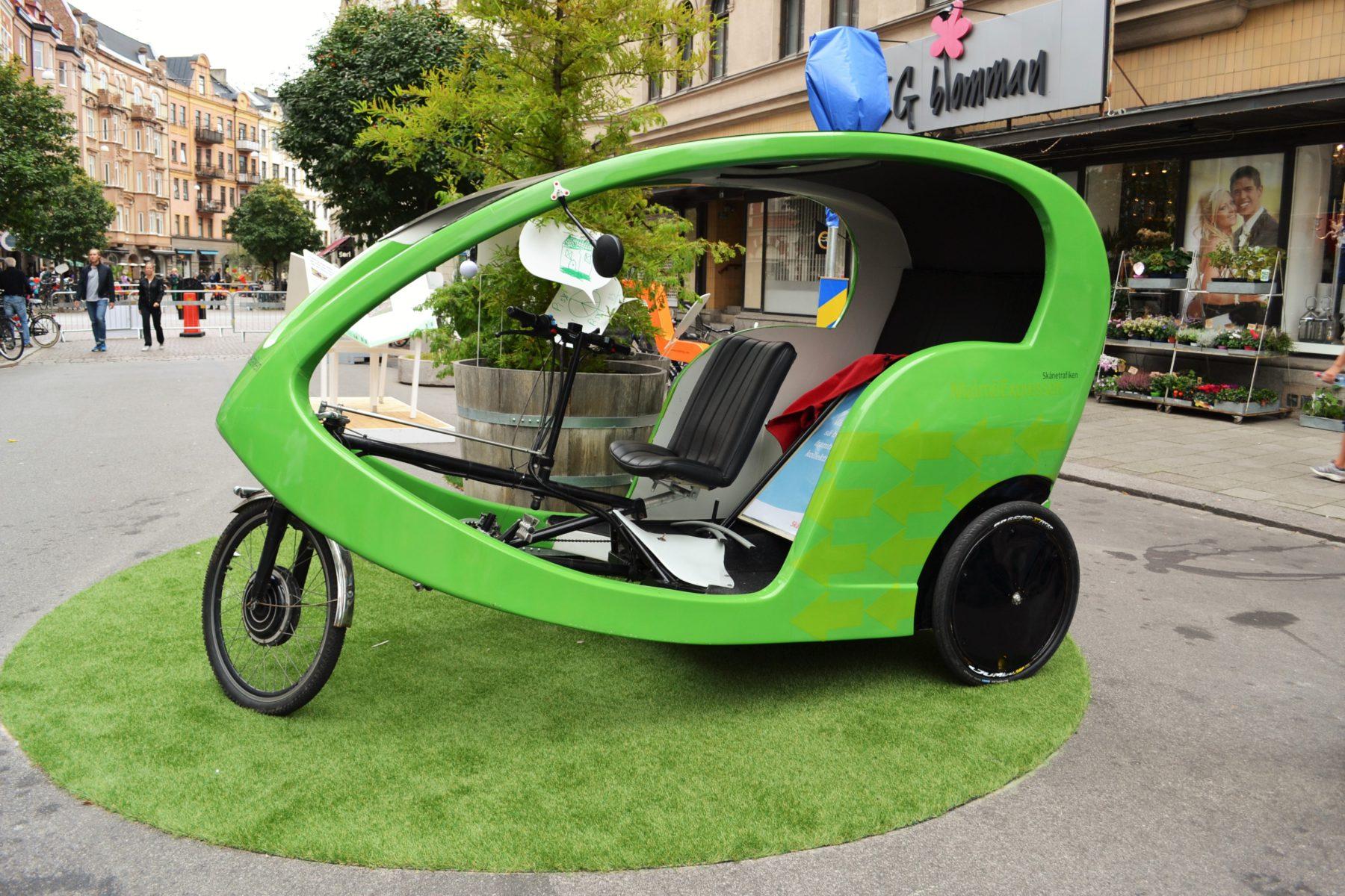 Skånetrafiken demonstrerar hållbar mobilitet