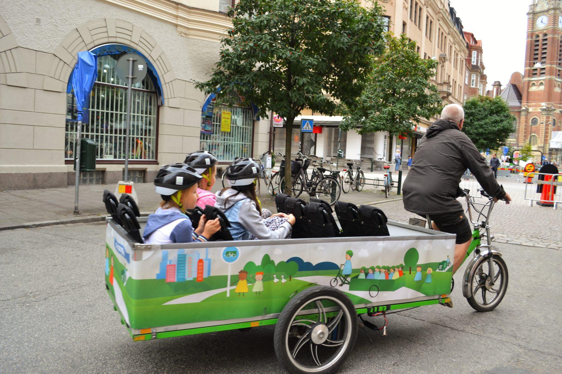 MoveByBike Malmös cykelbuss