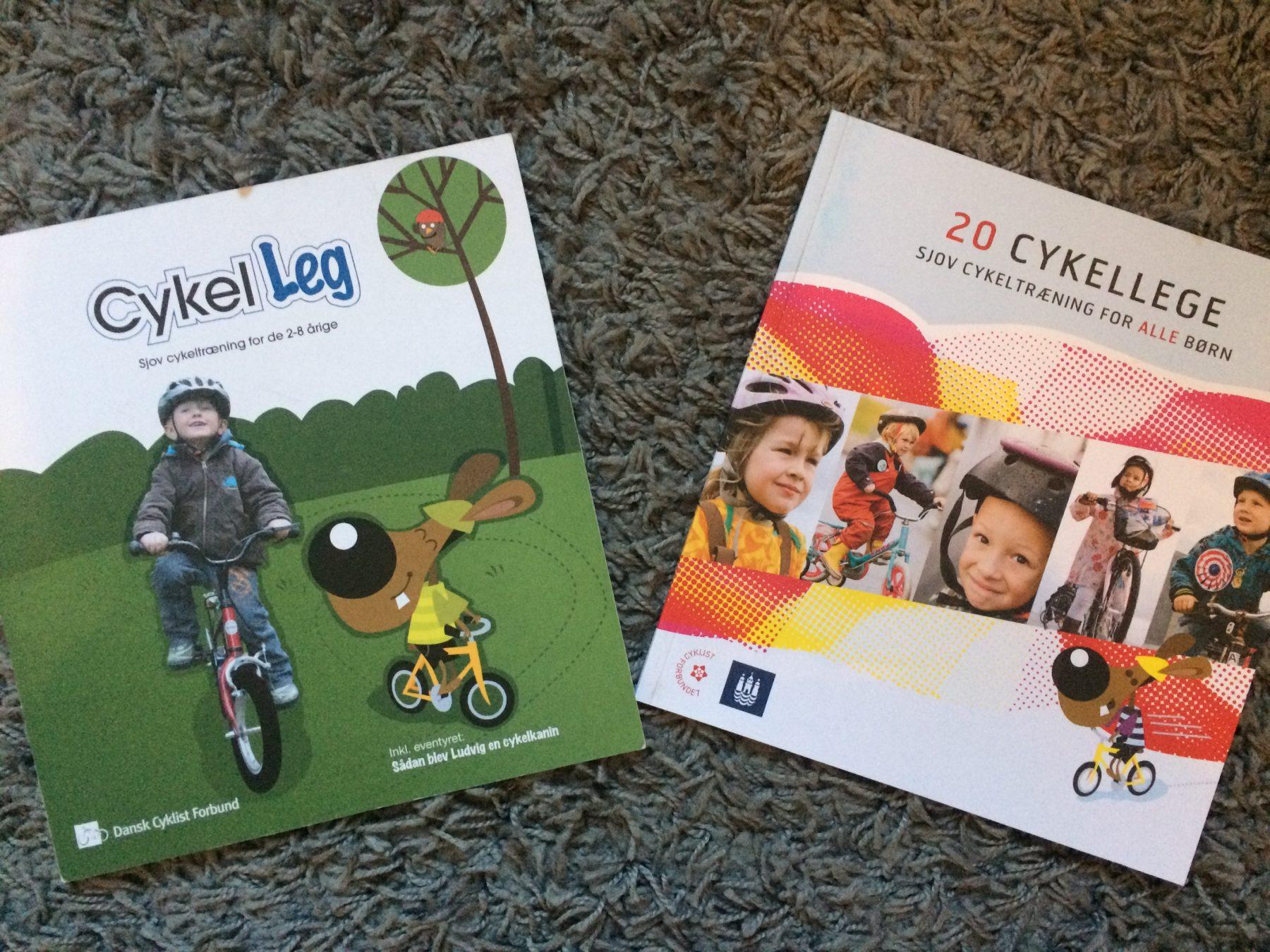 Pedagogiska cykellekar för de mindre barnen
