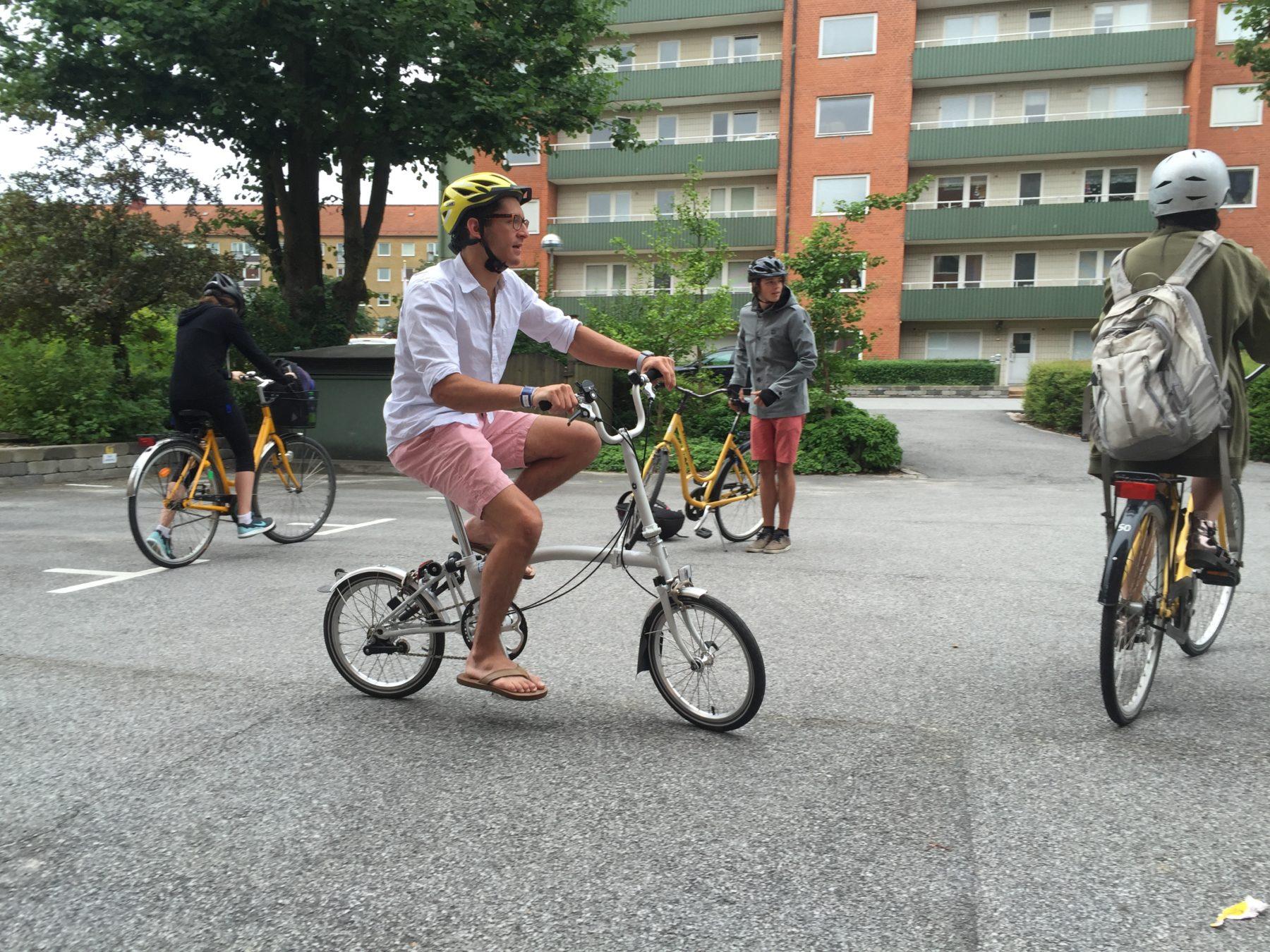 Cykelsugna elever
