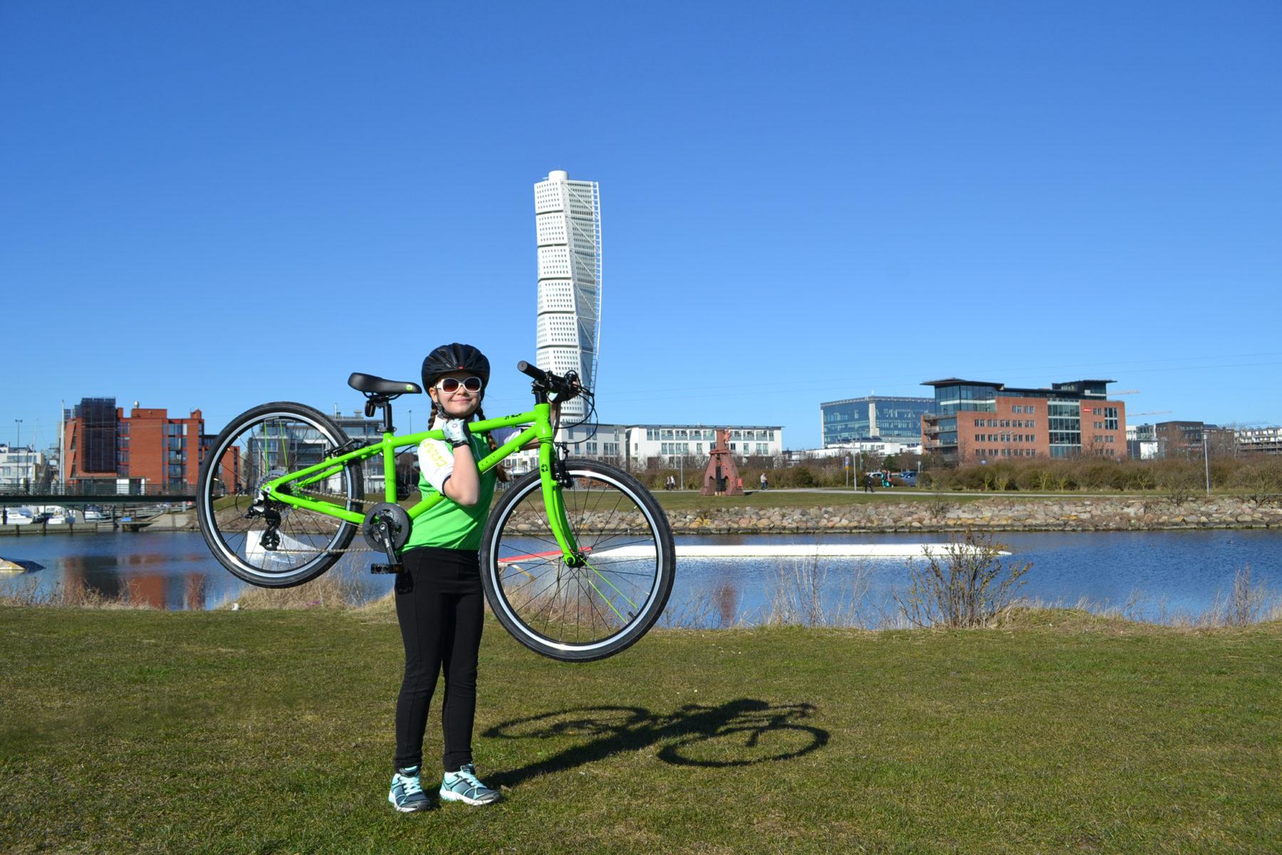 att välja cykel