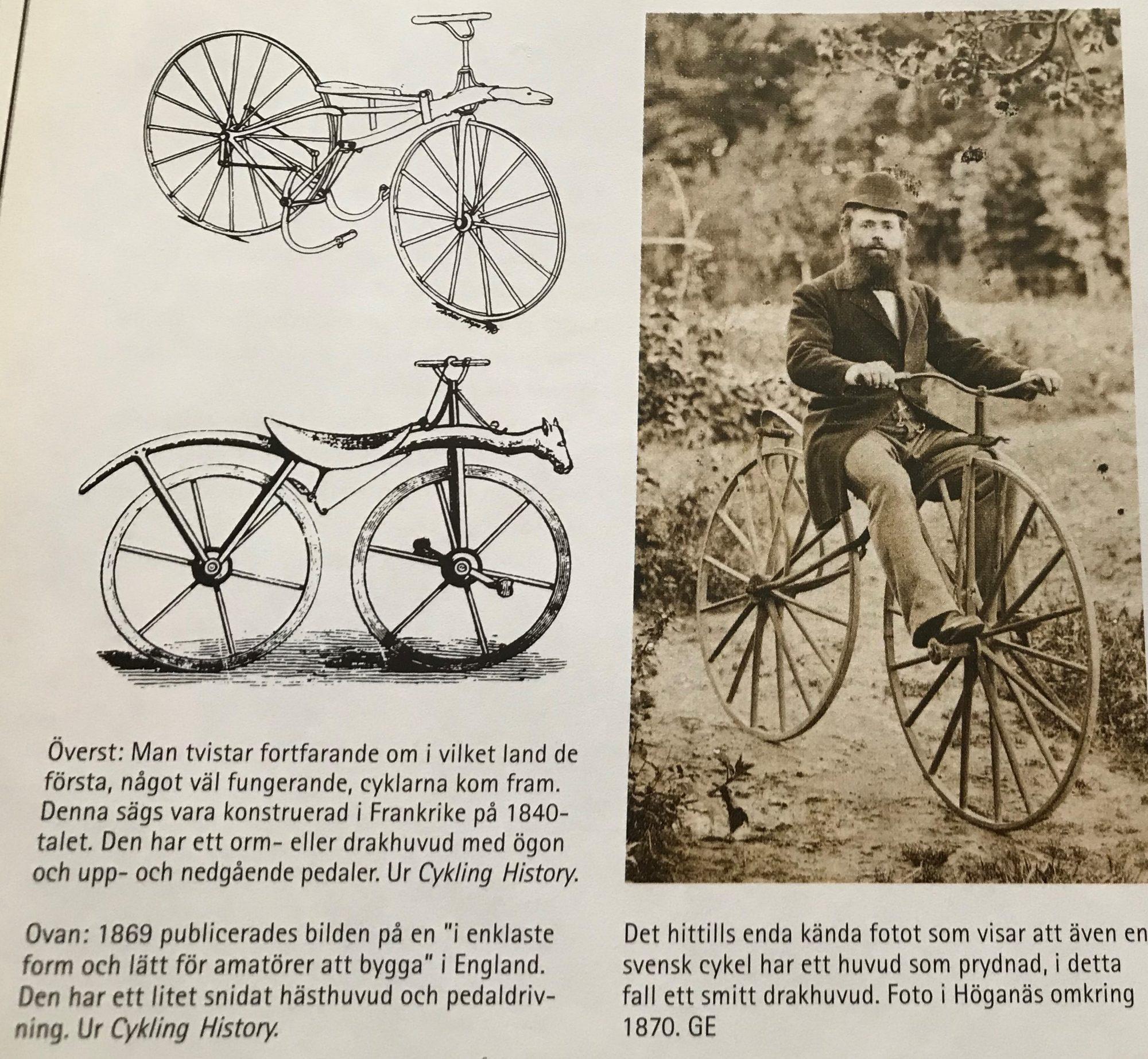 Tidsmæssigt Veckans boktips – älskade cyklar – Happyride.se MF-38