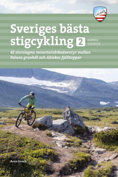 Omslag till Sveriges bästa stigcykling del 2